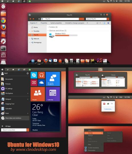 ubuntu-minimal-win-10-theme-min