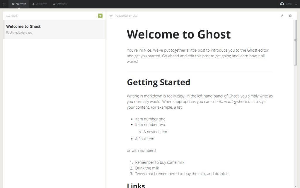 Ghost_wordpress-best-alternative