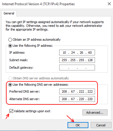 change-dns-server