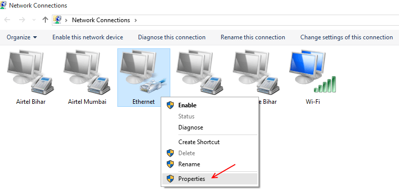 ethernet-right-click-properties