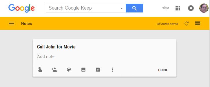 google-note