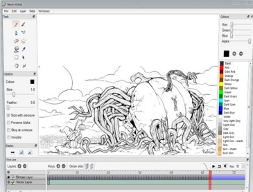 Top 10 best animation software free to download for windows for Online 2d drafting software