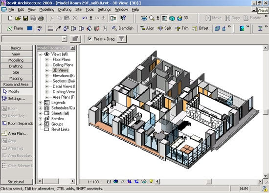 Top 5 free best architecture software for architects for Revit architecture house design
