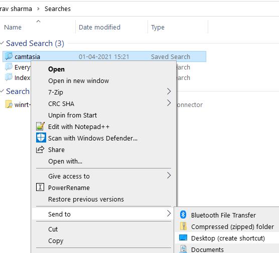 Searches Desktop Min