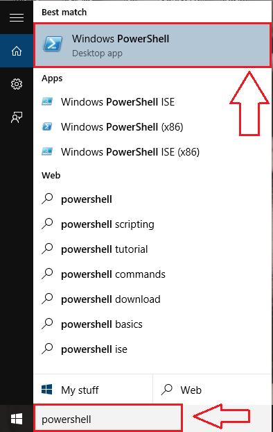 1powershell