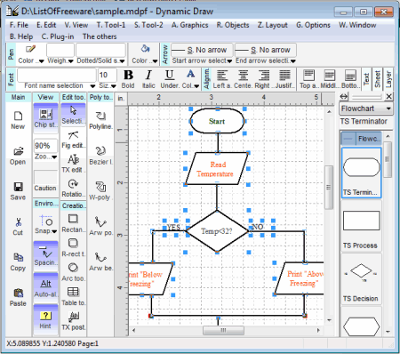 19 best free tools for creating flowcharts Drawing programs for windows
