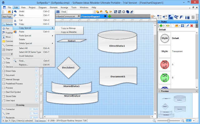 with software ideas modeler you can create flow charts, bpmn diagrams, uml  and diagrams and other diagrams effortlessly  you can create multiple flow  charts