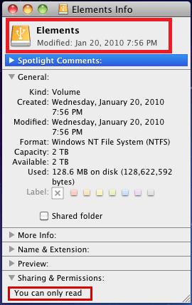 change folder icon _get info