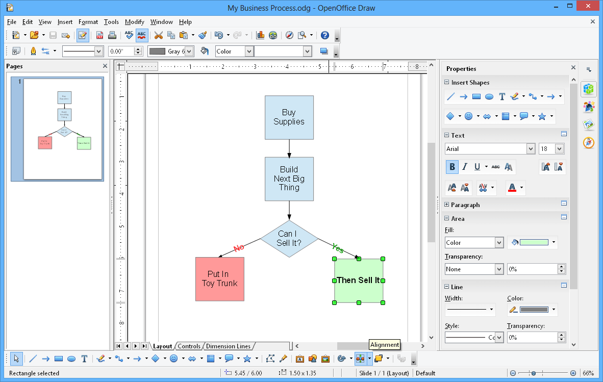 19 best free tools for creating flowcharts draw big open office min nvjuhfo Gallery