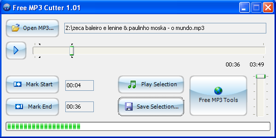 how to cut an audio files in winamp