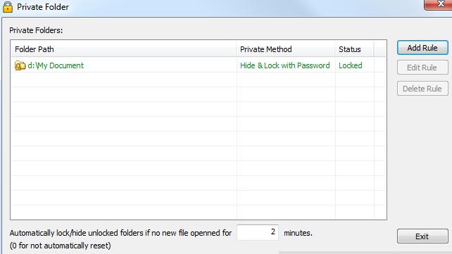 private-folder