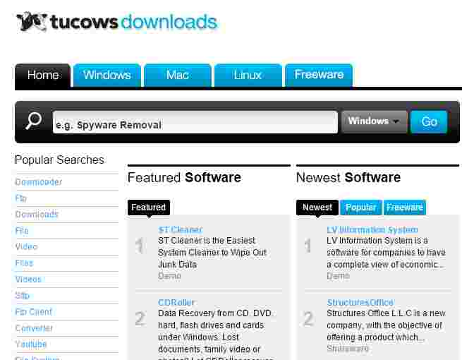 Top 20 Free software Download websites on Earth