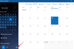 Calendar Settings Windows 10 Min