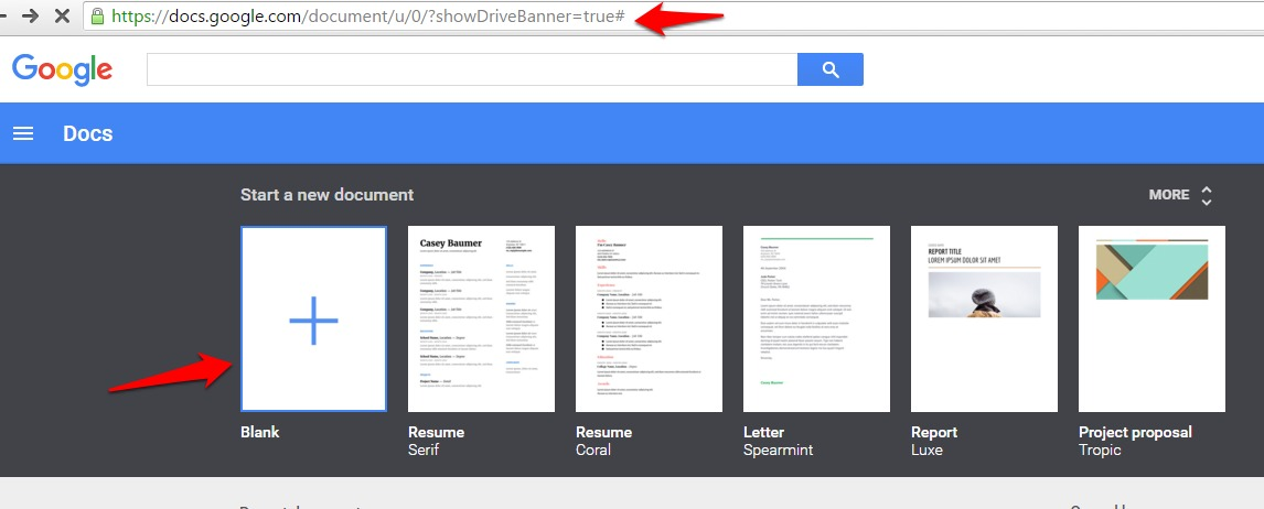 Type a document with Google Docs Voice Typing Feature