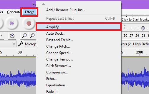 Amplify option