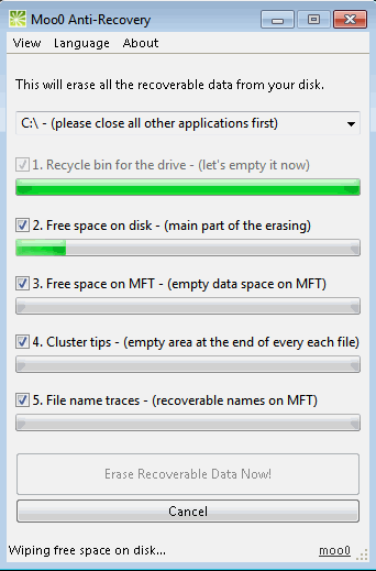how to permanently delete files pc