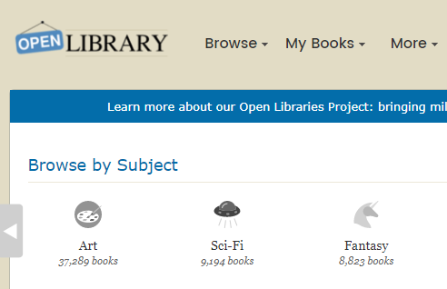Open Library Free Ebooks