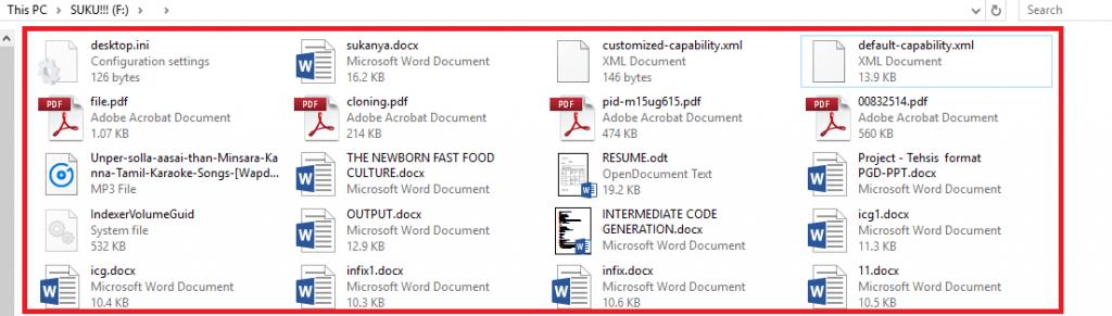 original files