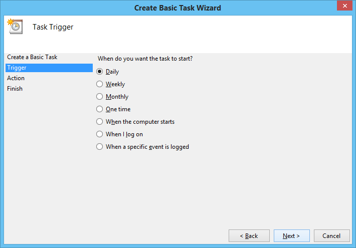 shut down using task scheduler2