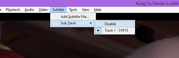 subs disable