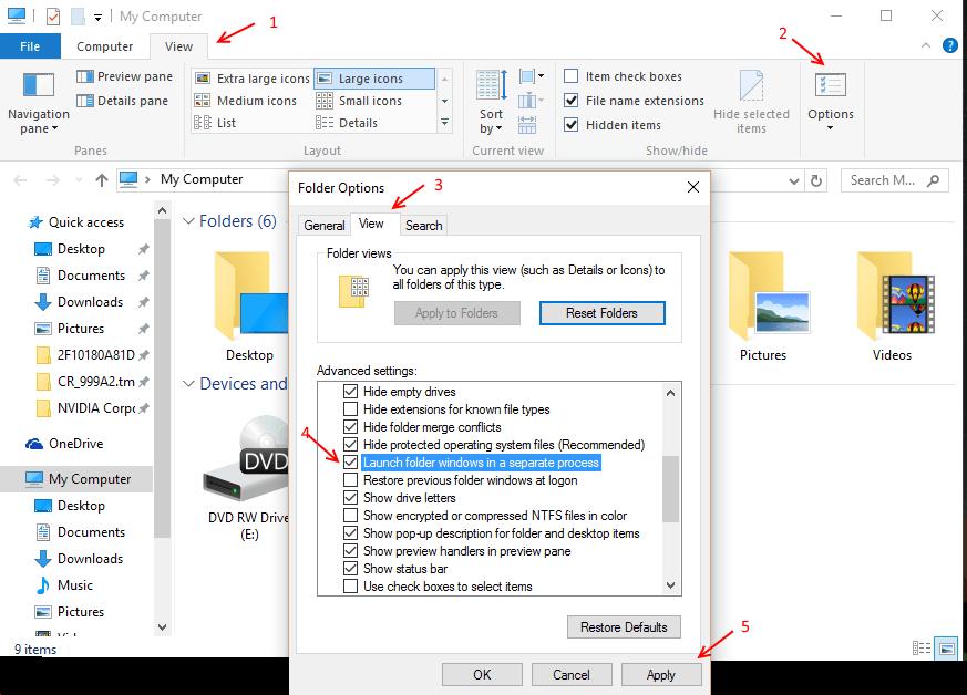 launch-file-explorer-seperate-process
