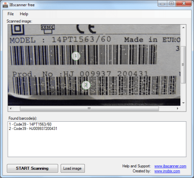 barcode reader software for windows 7 free download