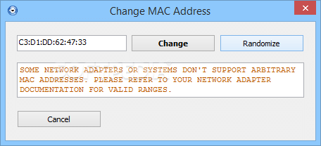 mac address spoofing software free download