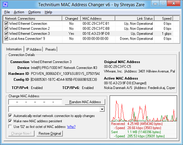 Top 10 Best Free MAC Address Changer Tools for Windows – Free Change of Address