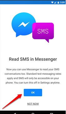 How To Read / Send SMS From Facebook Messenger on Android