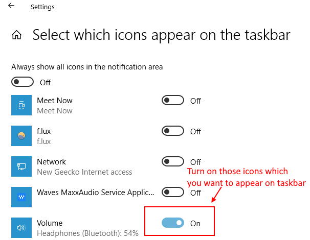 Taskbar Icons Min