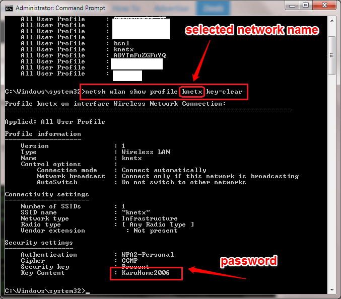 Find The WiFi Passwords Of All The Networks You Have Ever Connected To