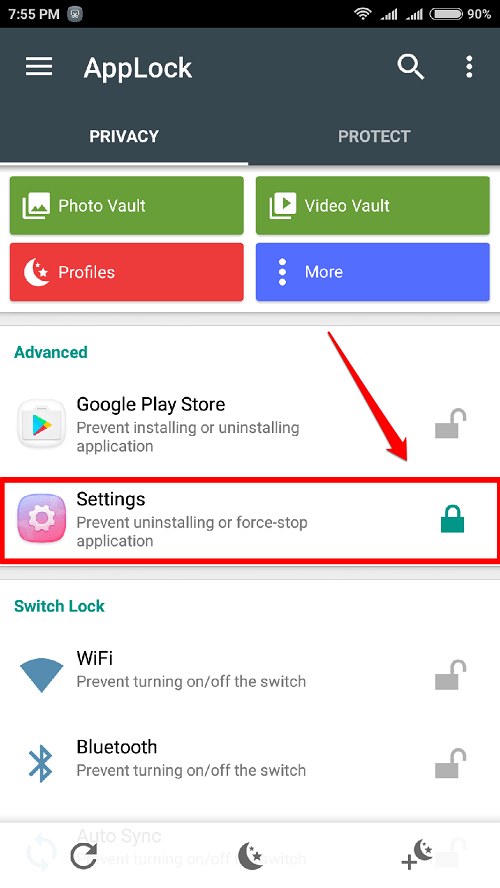 How To Unlock App Lock to view Access Locked Apps In Android