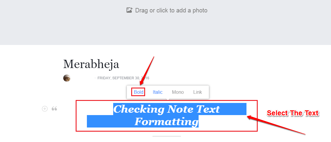 How To Text Format Status Updates (Bold, Italics Etc) On
