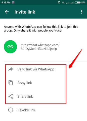 How To Send Whatsapp Group Invitation Through Links