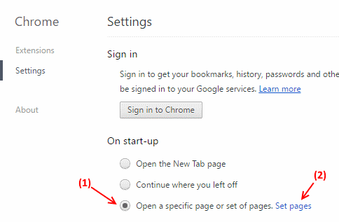 How to Remove the Bookmarks bar from Google chrome