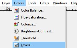 Choose Colors Levels