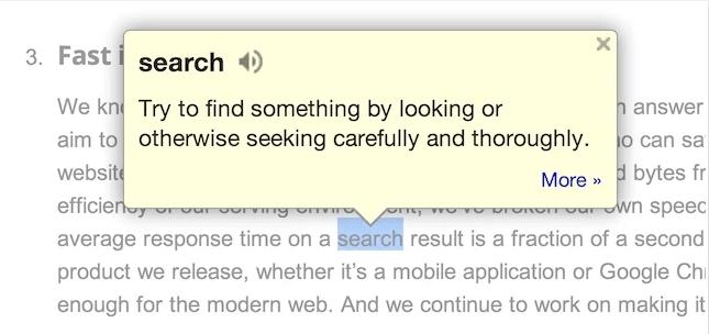 Google Dictionary Chrome Extension Min