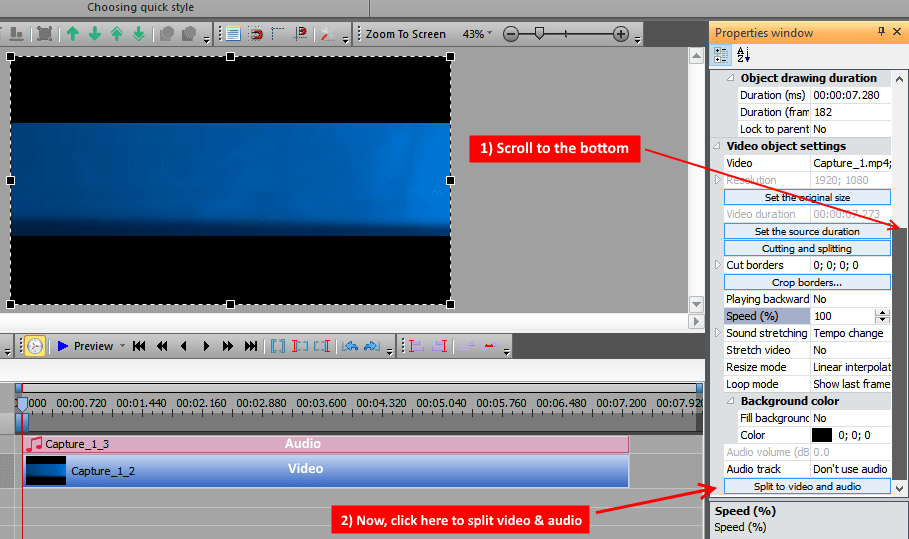 VSDC tutorial image 4
