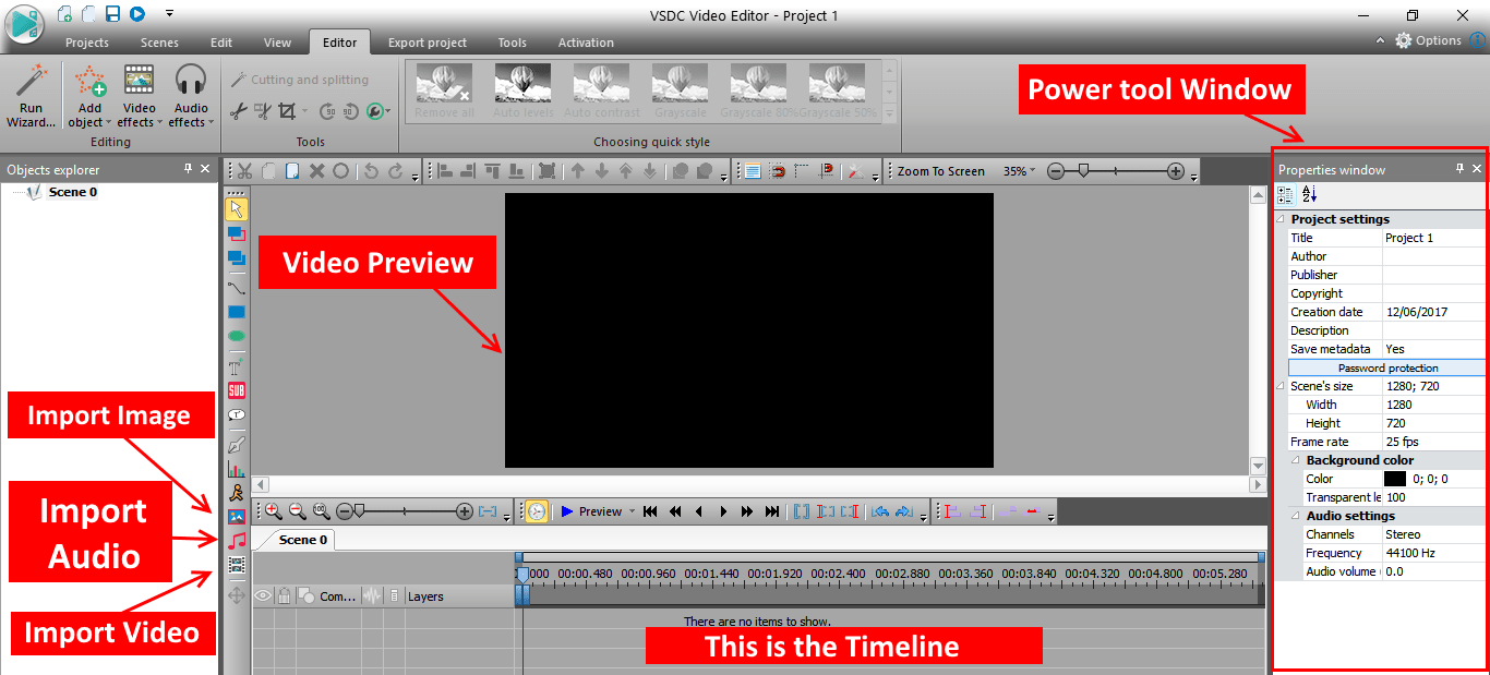 VSDC tutorial image 2