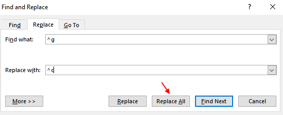 Replace All Images Word 2016