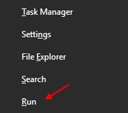 Run Windows 10