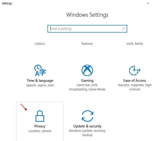 Windows 10privacy