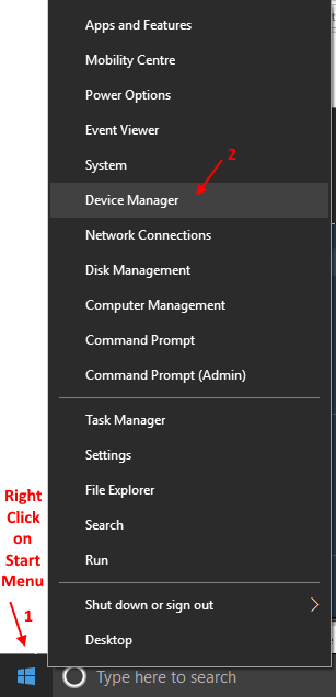 Device Manager Windows 10