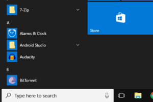 Non Transparent Windows 10