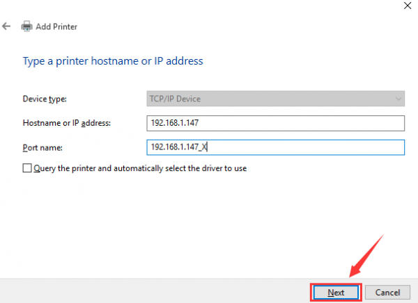 Printers Ip Address Manual Put In