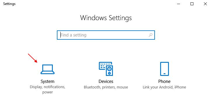 System Windows 10