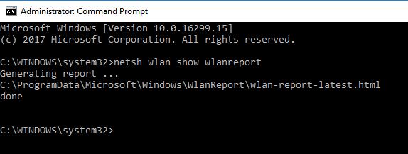 Wlan Report