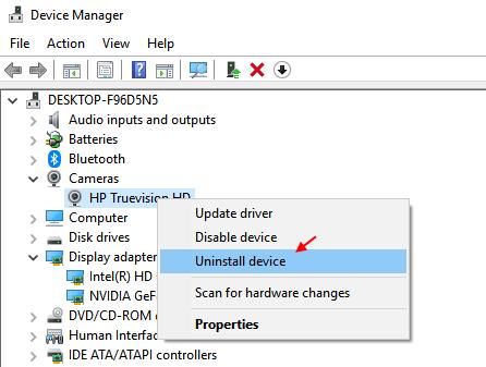 Fix We Can T Find Your Camera In Windows 10 Error Code 0xa00f4244