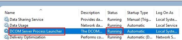 Dcom Service Launcher