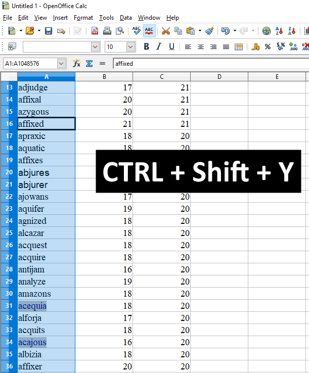 Remove All Hyperlinks At Once Openoffice Calc